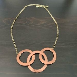 Jewelry - Copper and Gold-toned Necklace